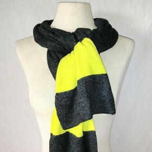NEON Yellow Winter Scarf #hundredsofscarves